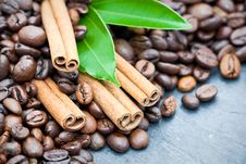 Free Cinnamon And Coffee Stock Photos - 16579003