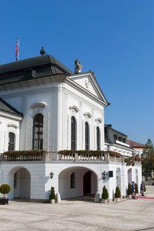 Free Presidential Castle In Bratislava Stock Images - 16579264