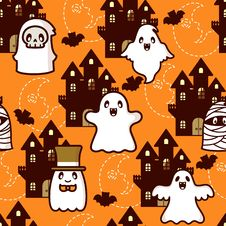 Free Halloween Castle Ghost Royalty Free Stock Photography - 16579537
