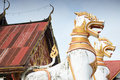 Free Animals In Mythology In Front Of Thai Temple Royalty Free Stock Images - 16581159