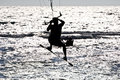 Free Kitesurfer  Silhouette Stock Photography - 16581172