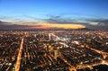 Free Taipei.Panoramic City Skyline At Sunset Royalty Free Stock Photography - 16586047
