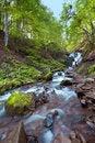Free Autumn Mountain Waterfall Stock Images - 16587414
