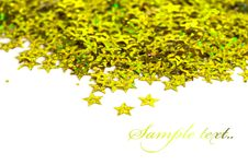 Free Celebration Stars On White Royalty Free Stock Photo - 16580205