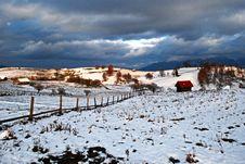 Free Winter Hill Stock Image - 16580311