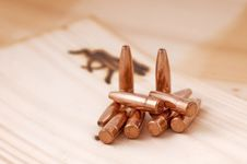 Free Bullets On Wood Royalty Free Stock Photo - 16580825