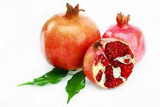 Free Pomegranates Royalty Free Stock Photos - 16580848