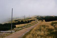 Free Mountain Path Royalty Free Stock Photo - 16581005