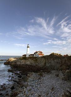 Free Portland Head Light - Lighthouse Stock Image - 16581341