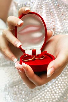 Free Wedding Rings Stock Image - 16581421