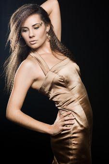 Free Elegant Fashionable Woman Stock Photography - 16581462