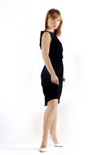Free Girl In Black Dress Royalty Free Stock Photography - 16581537