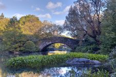 Free Central Park In Early Autumn Stock Image - 16581611