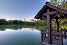Central Park In Early Autumn Stock Photography