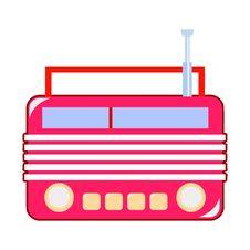 Free Retro-styled Radio Receiver Royalty Free Stock Image - 16581866