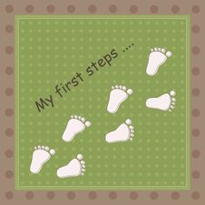 Free First Steps, Royalty Free Stock Photo - 16582065