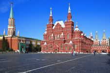 Free Historical Museum On Red Square Stock Images - 16582384