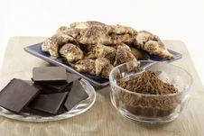 Chocolate Rugelach Royalty Free Stock Photos