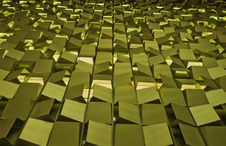 Free Golden Blocks Stock Image - 16583291