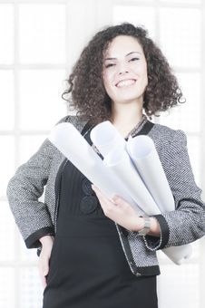 Free Beautiful Business Woman Royalty Free Stock Image - 16584316