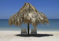 Free Papala And Two Chairs Stock Image - 16584571