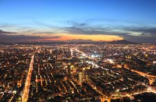 Free Taipei.Panoramic City Skyline At Sunset Royalty Free Stock Photography - 16586047