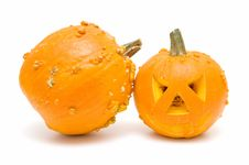 Free Halloween Pumpkin Royalty Free Stock Photos - 16586058