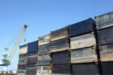 Free Steel Container Royalty Free Stock Photos - 16586228