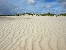 Free Long Beach On The Island Of Amrum Stock Photos - 16586243