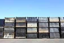 Free Steel Cargo Cantainer Stock Photo - 16586320