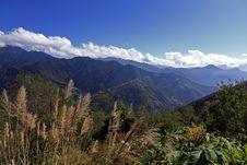 Hehuan Mountain Stock Photo