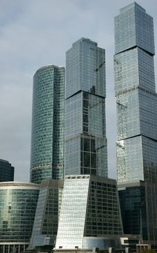 Free Business Centre Moscow-city Royalty Free Stock Photos - 16587528