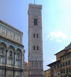 Giotto S Bell Tower, Florence. Stock Images