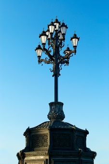 Free Cast Iron Street Lamp Stock Photos - 16588383