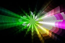 Free 3d Background Rays Royalty Free Stock Photo - 16588455