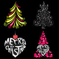 Free Christmas Trees Royalty Free Stock Images - 16593789