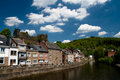 Free European Houses On A Bank Of A River Stock Photo - 16598130