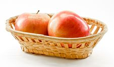Free Apples In The Basket Stock Images - 16591714