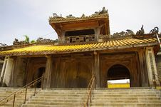 Free Main Gate Of The Wall Of The Tomb Of King Tu Duc I Royalty Free Stock Image - 16592136
