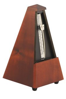 The Image Of Metronome Royalty Free Stock Photography