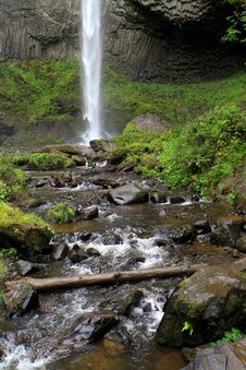 Free Waterfall In The Columbia River Gorge Royalty Free Stock Images - 16593889