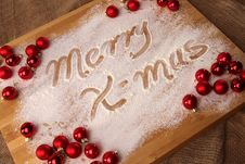 Free Merry Christmas Royalty Free Stock Image - 16594146