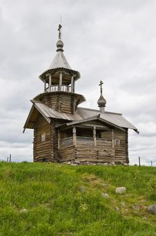 Free Orthodox Wooden Chapel Of Holy Face In Kizhi Royalty Free Stock Photos - 16594368