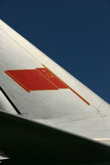 Free Soviet Flag On A Tail Fin Stock Photos - 16594573