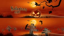 Free Halloween Banners Stock Photos - 16595073
