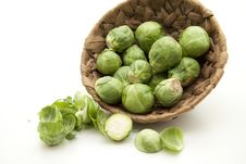 Free Brussels Sprouts Royalty Free Stock Photo - 16595745