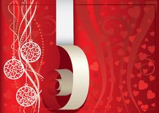 Free Red Christmas Background Royalty Free Stock Photo - 16595985