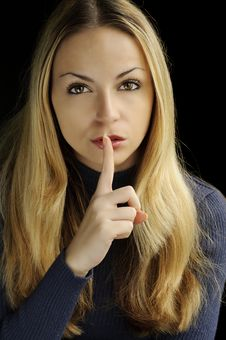 Free It S A Secret, Shh Stock Photo - 16597330
