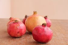 Free Pomegranate Royalty Free Stock Images - 16597729