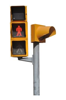 Free Pedestrian Red Light Stock Images - 16598264